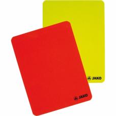 Jako Referee card set red-yellow