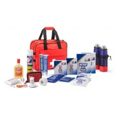 First aid - medical bag filled