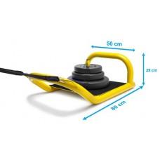 Senior Speed Sledge 2.0 - Push and pull Net weight: 12 kg.