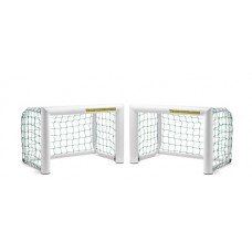 set of 2 aluminum mini goal - 0,90 x 0,60 m