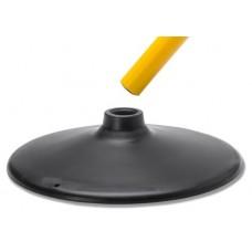 Pole base- for rods ø 2.5 cm
