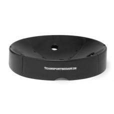 Ball tray for gym ball - pluggable