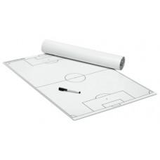 FOOTBALL – Tactics poster (white) 600 x 800 mm