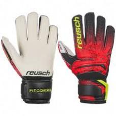 Goalkeeper Gloves Reusch Fit Control RG Open Cuff Junior