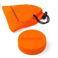 Marking Discs ø 8,5 cm (9 colours) – Set of 10 orange