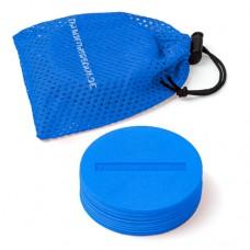 Marking Discs ø 8,5 cm (9 colours) – Set of 10 Blue