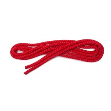 Gymnastic skipping rope (3 colours) - length 3 m Red
