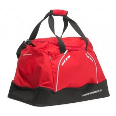 Sports bag with base compartment - Red